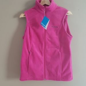 NWT Columbia Fleece Vest